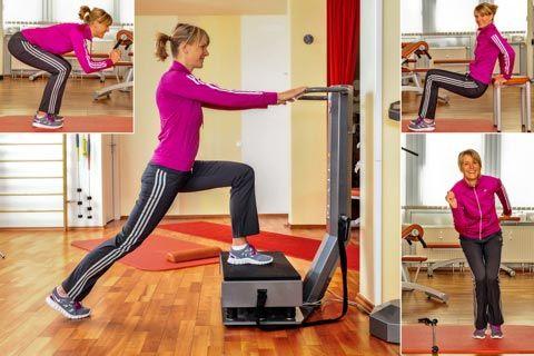 In der folgenden Bildergalerie sehen Sie Skigymnastik Übungen. Ein Workout, um den Körper optimal auf die Skisaison vorzubereiten, damit er die notwendige Beweglichkeit, Koordination, Ausdauer und Schnelligkeit besitzt, die Sie auf der Piste ...