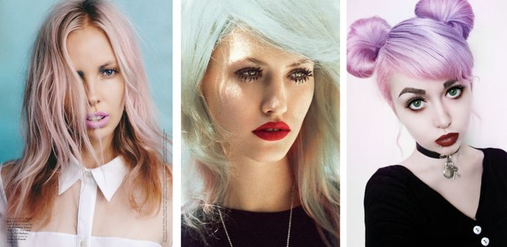 Spring Hair Color Trends: Pastel Candy-Coats Not Going Away