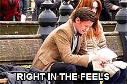 """When the Doctor finally says goodbye to the Ponds. 