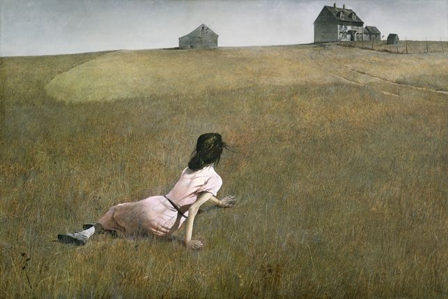 Andrew Wyeth, Christina's World (1948). The Museum of Modern Art, New York.  Purchase. © 2012 Andrew Wyeth