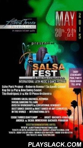 LA SALSA FEST  Android App - playslack.com , Welcome and thank you for selecting the app for this great event. Please take few minutes to read this information. The 3rd paragraph is critical.Enjoy!Official Los Angeles Salsa Congress app.You may need a high capacity network or a Wifi connection to first fully download this App correctly. Delete any previous version and download the app while you have a great network connection.This dynamic event management app fully works even in Air Plane…
