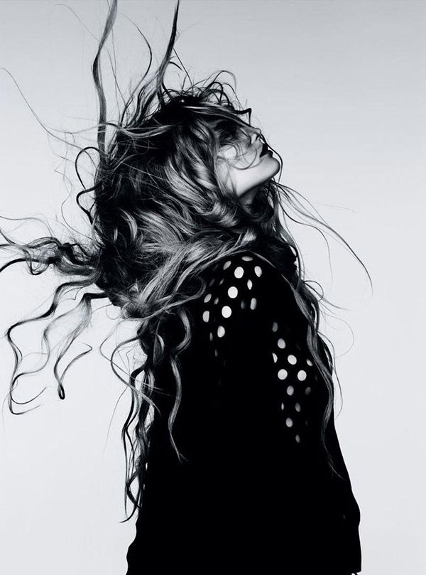 Magdalena Frackowiak by Ben Hassett for Vogue Germany January 2012