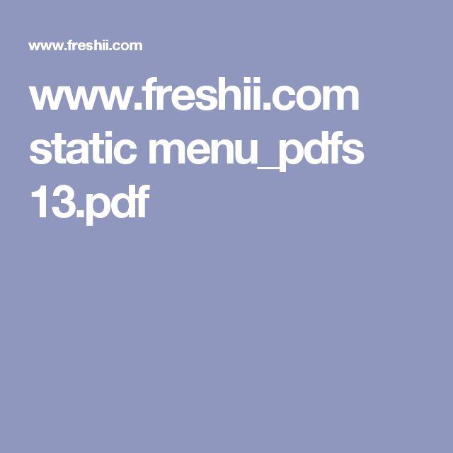 www.freshii.com static menu_pdfs 13.pdf