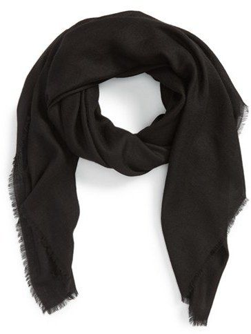 $795, Burberry Cashmere Scarf. Sold by Nordstrom. Click for more info: https://lookastic.com/women/shop_items/387501/redirect