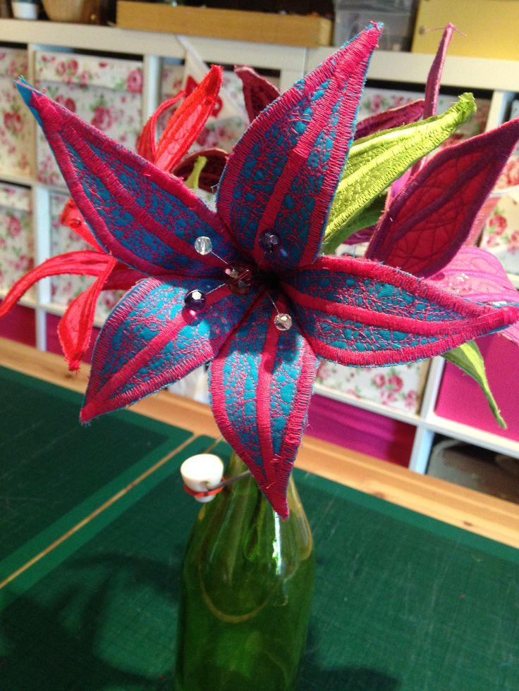 Fabric Lily