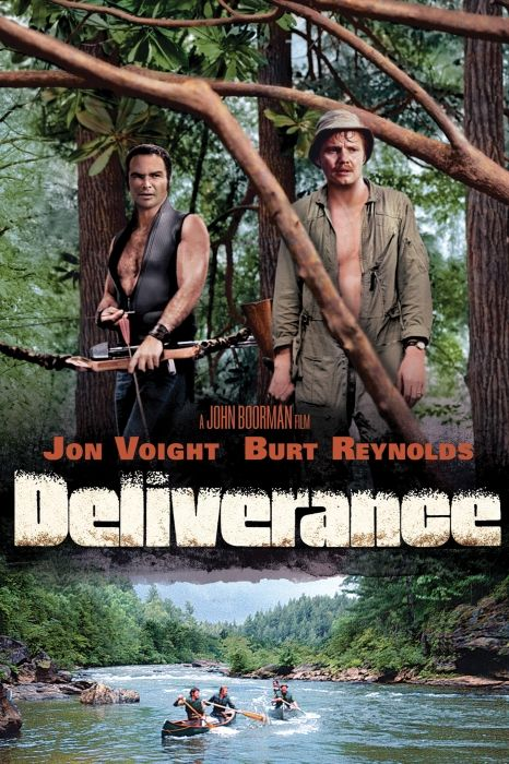 Deliverance Movie Poster - Jon Voight, Burt Reynolds, Ned Beatty #Deliverance…
