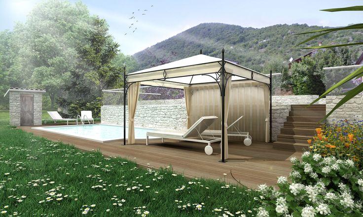 Relax in montagna. Un intervento che rispetta la struttura originale studiando la distribuzione degli spazi interni ed esterni.