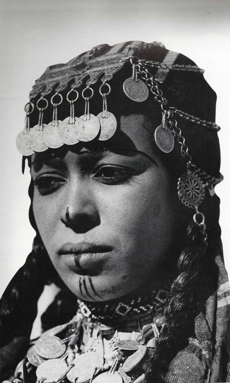 Ait Imerhrane Woman. High Atlas Mountains.  Morocco