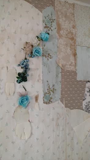Vintage Wallpaper Background -Patina