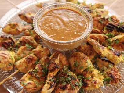 Chicken Satay with Peanut Sauce | The Pioneer Woman