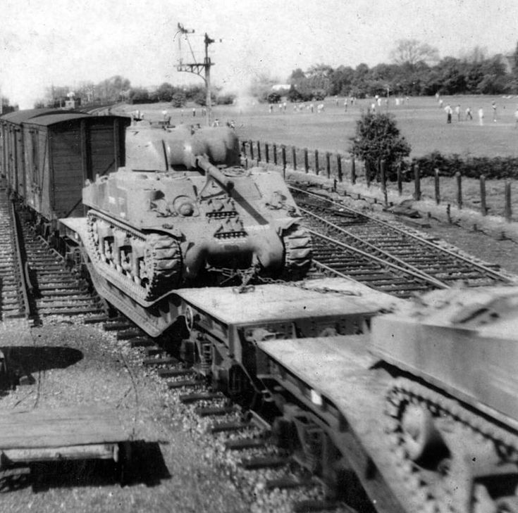 cromwell tanks on trains - Google Search