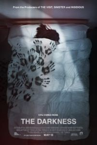 The Darkness -  A family returns from a Grand Canyon vacation haunted by an ancient supernatural entity they unknowingly awakened and engages them in a fight for their survival.  Genre: Horror Thriller Actors: David Mazouz Kevin Bacon Lucy Fry Radha Mitchell Year: 2016 Runtime: 92 min IMDB Rating: 4.4 Director: Greg McLean  The Darkness movie - source here: www.InsideHollywoodFilms.com