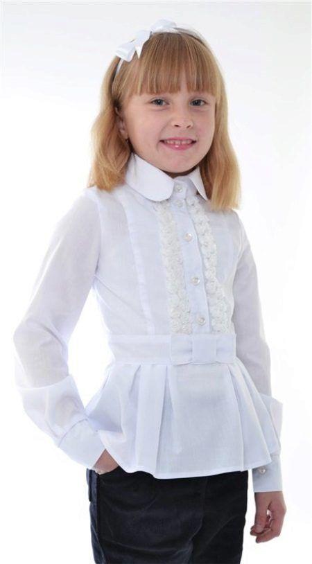 b72c4f1c30b8c Блузки для девочек прекрасно подходят для школы. Какие школьные модели  стоит выбрать и что учесть при выборе трикотажных блуз?