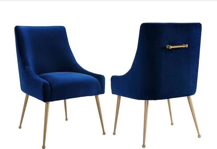 unusual dining room chairs | Velvet dining chairs, Side ...