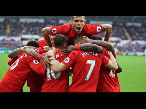Swansea City vs Liverpool - leroy fer goal - swansea city vs liverpool 1...