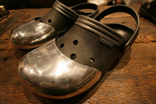 Steel Toe Crocs Maker Crafter Cleverness Pinterest