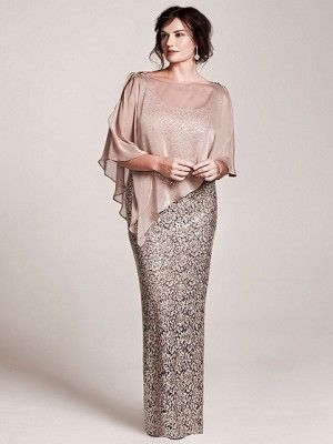 Sheath/Column Square Sleeveless Floor-Length Lace Mother of the Bride Dresses - Plus Size Mother of the Bride Dresses - Mother of the Bride Dresses