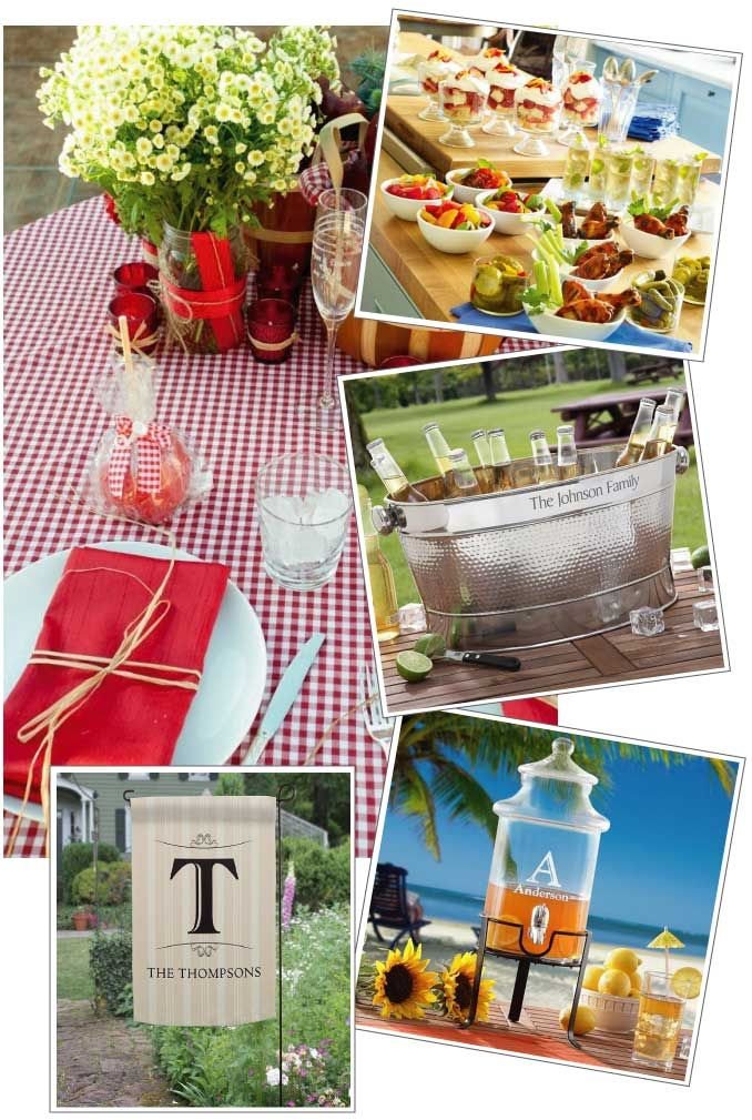 21 best images about fancy outdoor bbq on pinterest for What to serve at a bbq birthday party