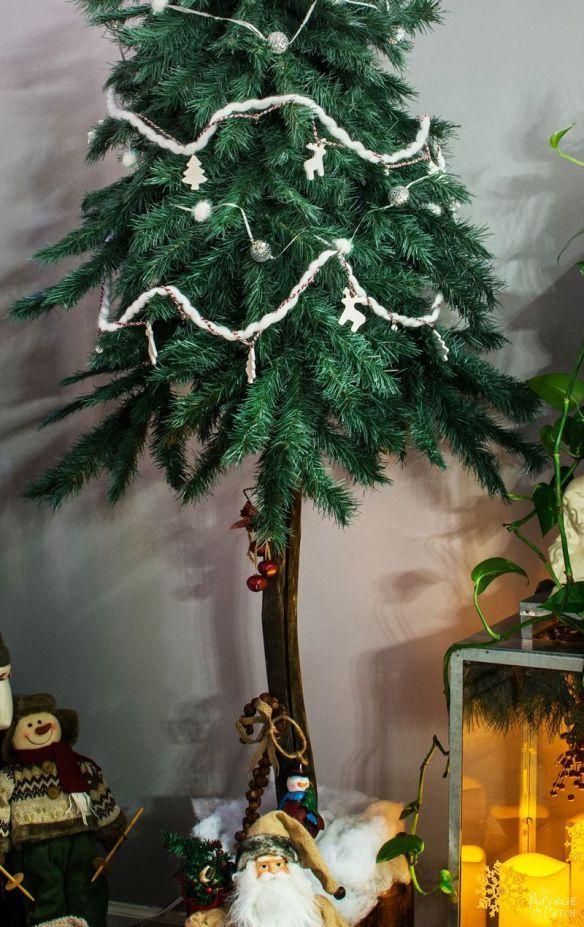 faux christmas tree repurposed three ways - 8 Foot Christmas Tree