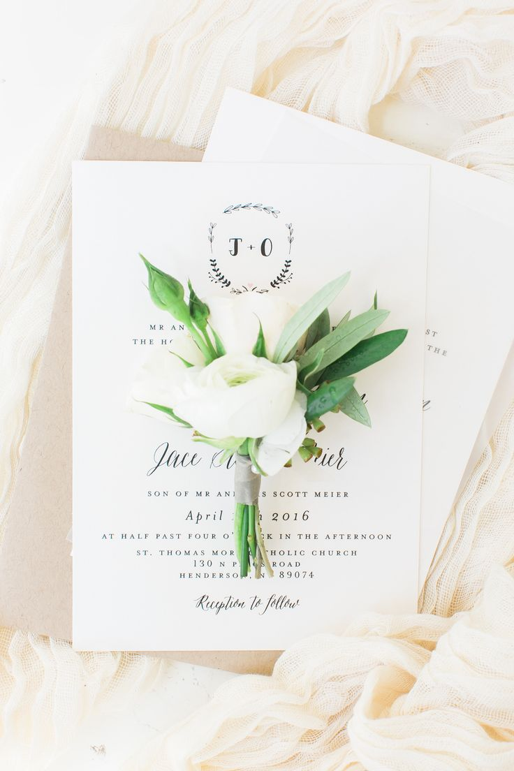 White ranunculus boutonniere by Layers of Lovely Floral Design. Photography by J. Anne Photography. Spring wedding flowers.