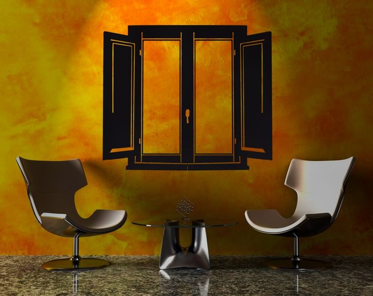 Finestra > Collezione Oggetti #wallstickers #mycollection #room #colour #design #home #office #living #stuff #window