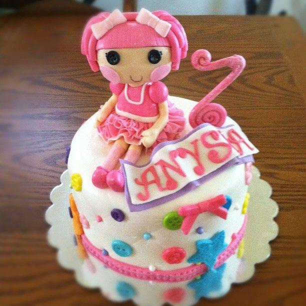 Lalaloopsy Birthday Cake Mold