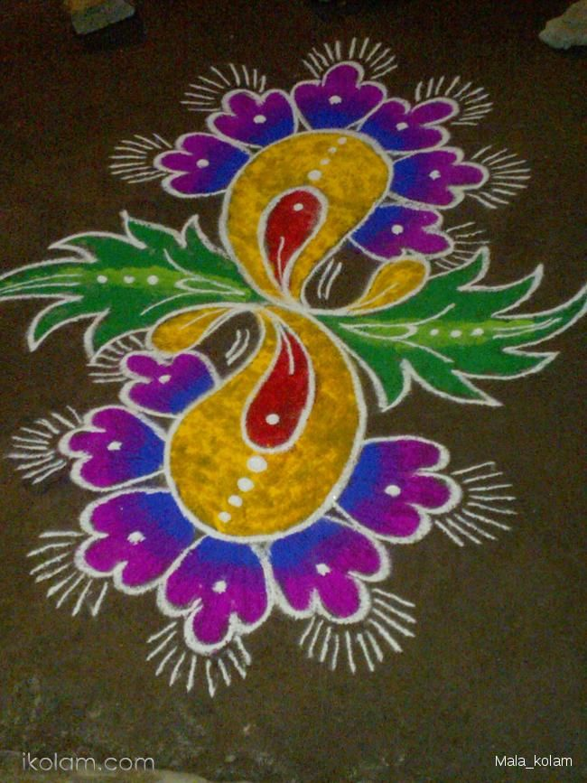 Rangoli designs!