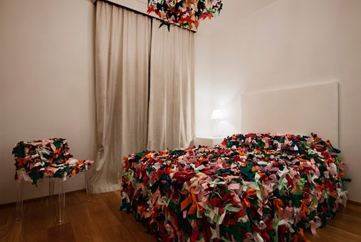 The Ribbon room | Maison Moschino | Milan