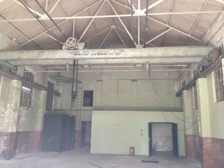 Showroom Interior: before