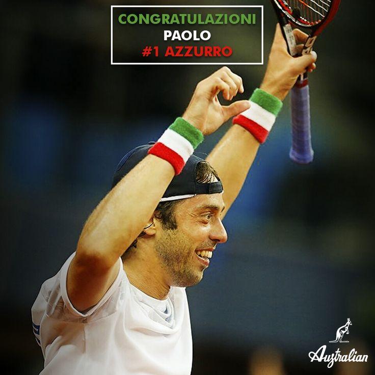 Our Paolo Lorenzi is the new #1 italian tennis player! Congratulations Paolo, you deserve it! #PaoloLorenzi #ATP #2016 #bestranking #AustralianPlayers