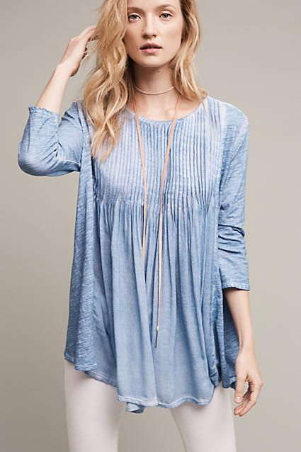 Skyline Pleated Tunic $70.40