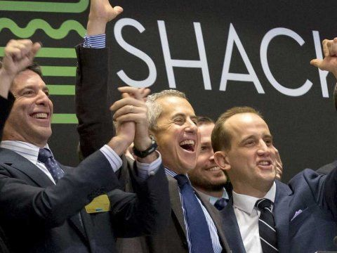 Shake Shack IPO NYSE Stock Exchange Randy Garutti Danny Meyer