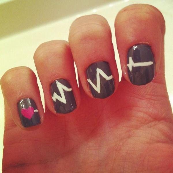 Nurse nails! I so want to do this.