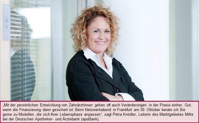 3. ladies dental talk Frankfurt am 30.10. mit Finanz