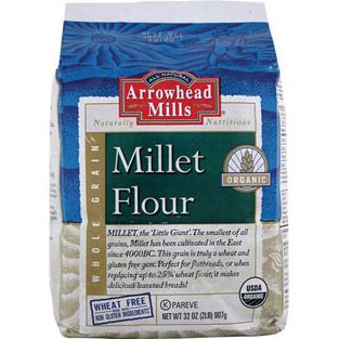 Arrowhead mills organic millet flour 32 oz dr vita 3 for A la maison thousand flowers