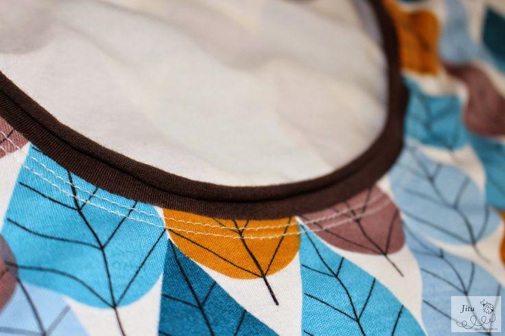 Jitu: Tričko s rolovaným lemem