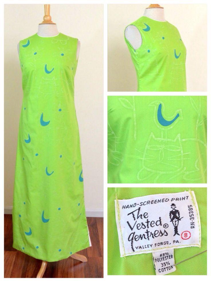 1970's Vested Gentress dress