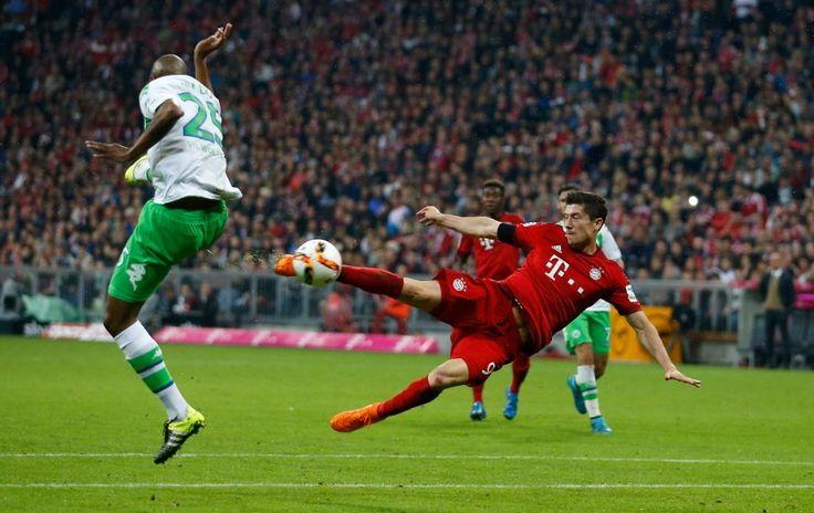 Five goals - one player: Lewandowski