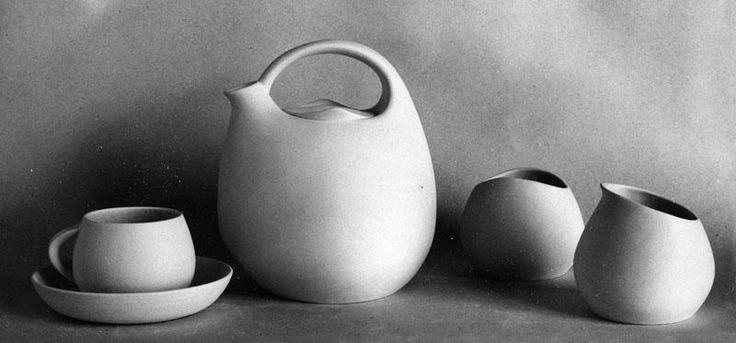 Serwis do kawy dla żeglugi morskiej, 1966  projekt: Jadwiga Adamczewska - Miklaszewska
