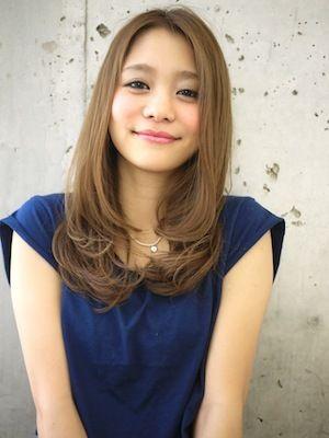 明るい髪色に、シンプルなワンカールが素敵♡   mery [メリー] - 女の子のためのキュレーションメディア