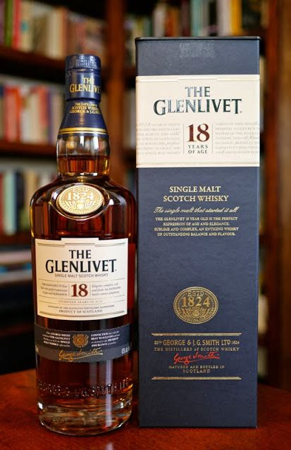 The Glenlivet 18 Single Malt Scotch Whisky