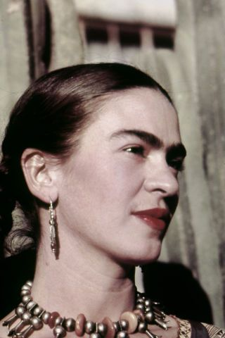 12 gorgeous photos of Frida Kahlo in honor of a new exhibit showcasing her work.