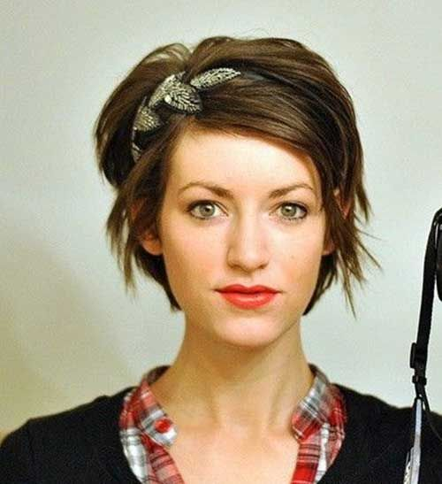 short hair headband - Google Search