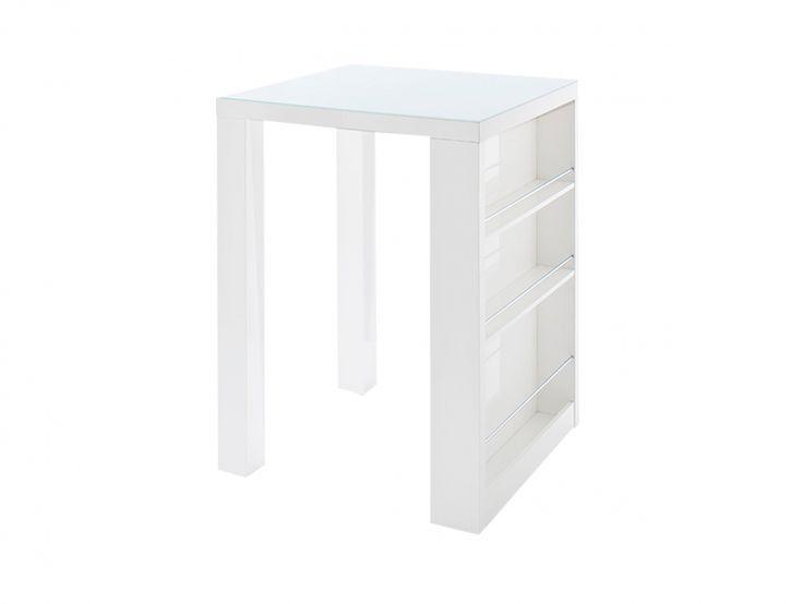 CLUB Barbord 80 Vit i gruppen Inomhus / Bord / Barbord hos Furniturebox (100-58-75995)