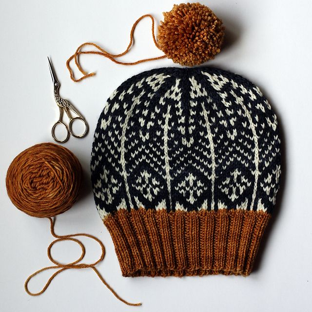 """Join the """"Stranded in February"""" Knit-A-Long with"""