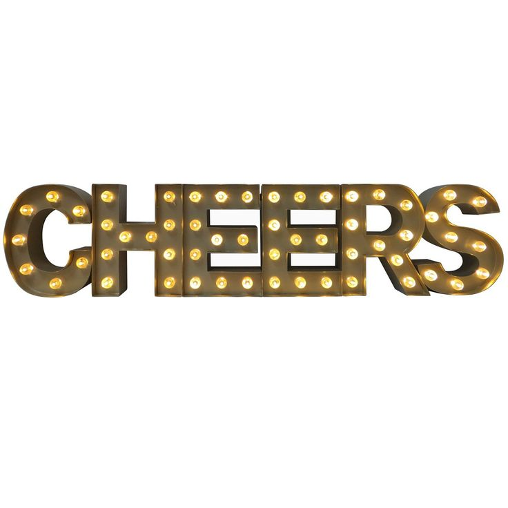 Cheers Lighted Marquee Sign - Sam's Club