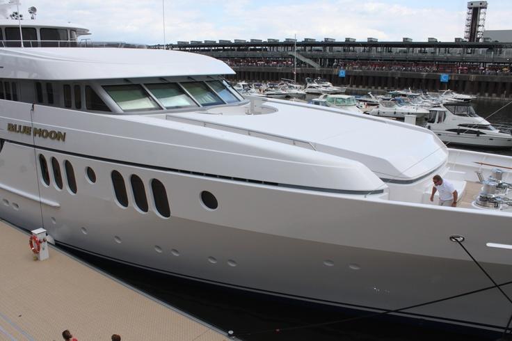 슈퍼 요트 블루문 Super yacht blue moon