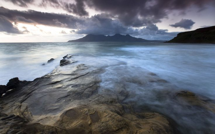 Eigg, Scotland, the perfect example of a tiny, friendly Hebridean island with a golden beach to lie on, a hill to climb and stunning views across the sea. Find out more: http://bit.ly/XXLE1u