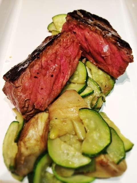 Filetto con verdure