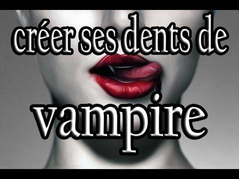 Comment se déguiser en vampire ?